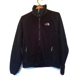 The North Face Black Fleece Jacket Size Small
